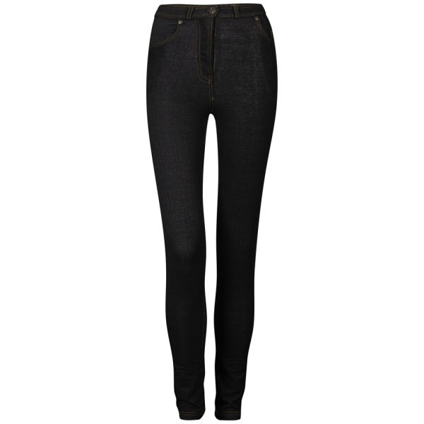Influence Women's Zip Jeggings - Blue/Black