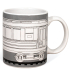 Graffitea Train Mug with Pens: Image 1