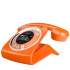 Sagemcom Sixty Digital Cordless Phone - Orange: Image 1