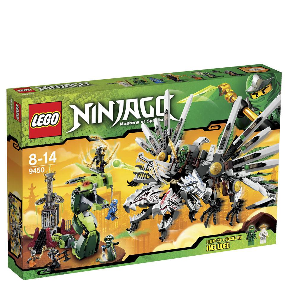 Lego Ninjago Epic Dragon Battle 9450 Iwoot