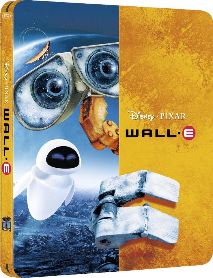 Wall-E - Zavvi Exclusive Limited Edition Steelbook (The ...