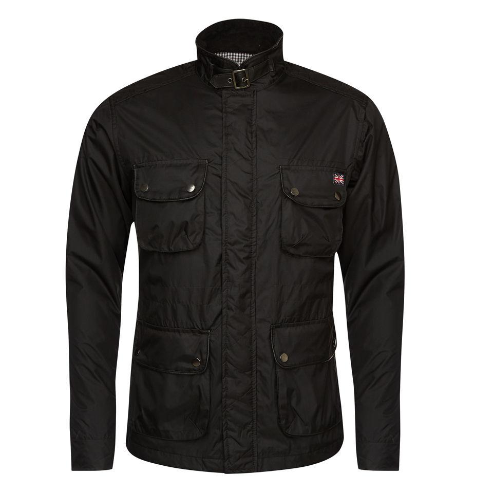 brave soul men 39 s survivor jacket black clothing. Black Bedroom Furniture Sets. Home Design Ideas
