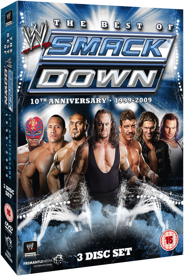 Wwe Best Of Smackdown 10th Anniversary 1999 2009 Dvd