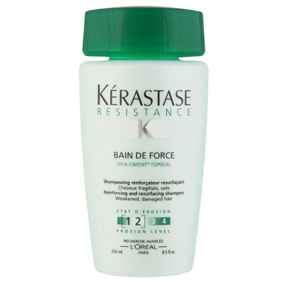 K rastase resistance bain de force 250ml for Salon kerastase