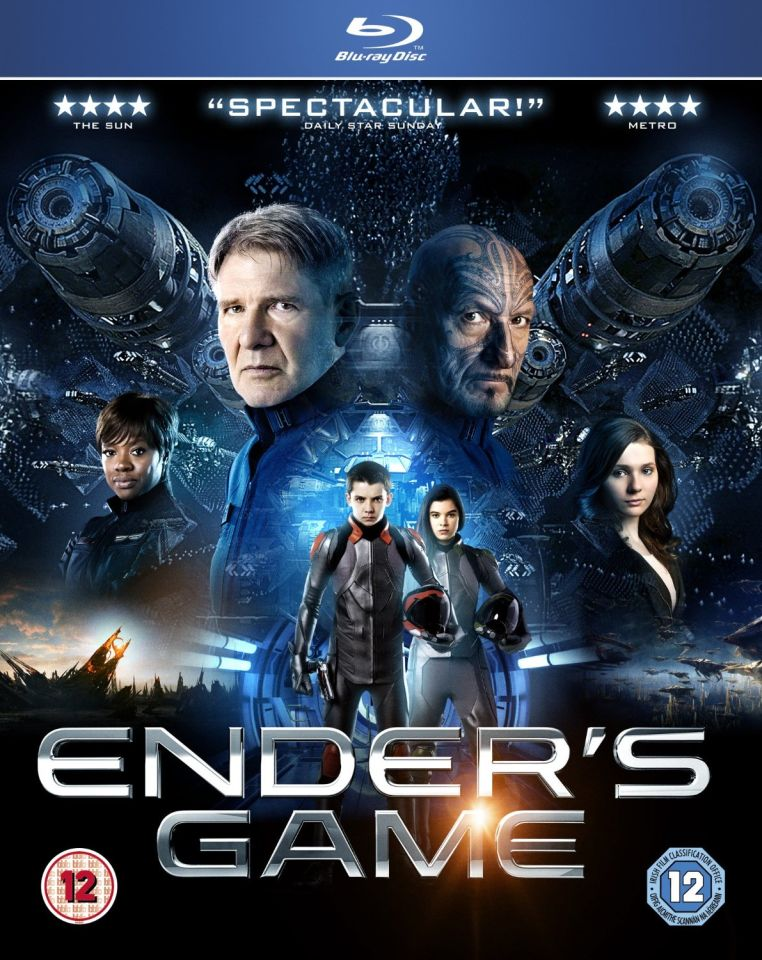 Enders Game Blu-ray | Zavvi.com