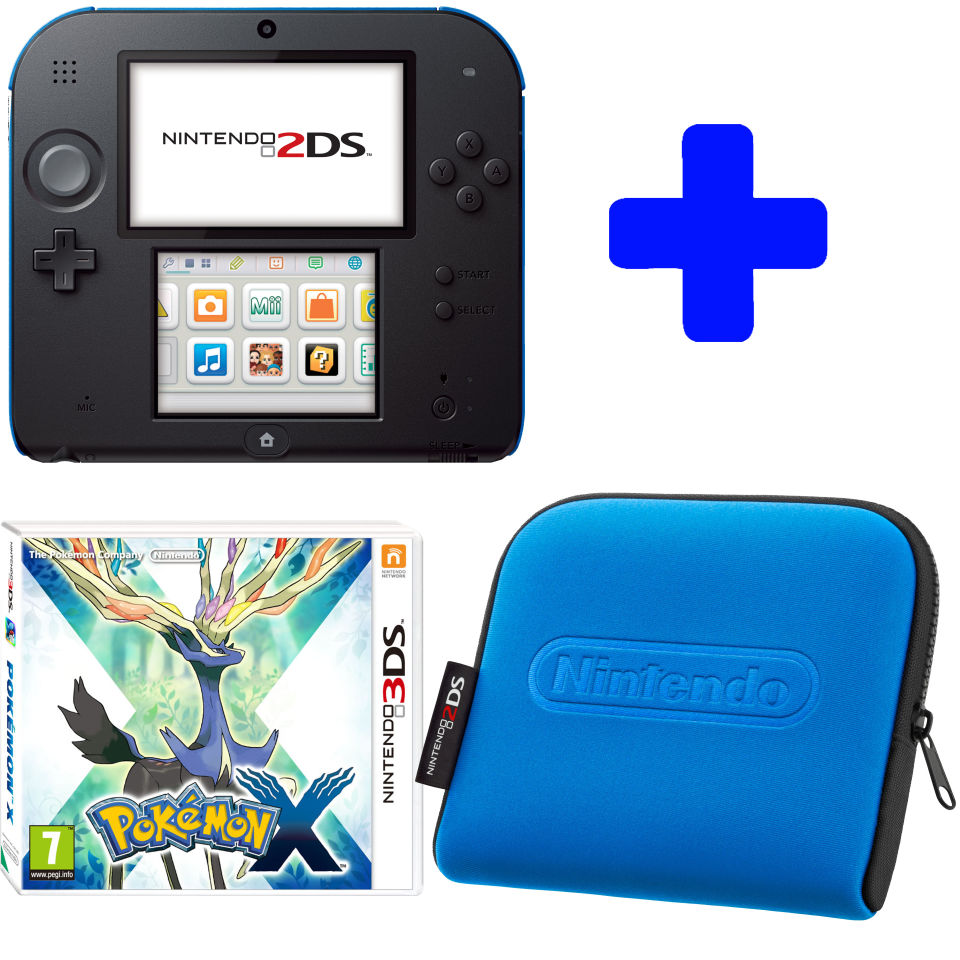 Nintendo 2DS Product Overview As part of the Nintendo 3DS family, Nintendo 2DS can offer you the full range of incredible games, playable in 2D.