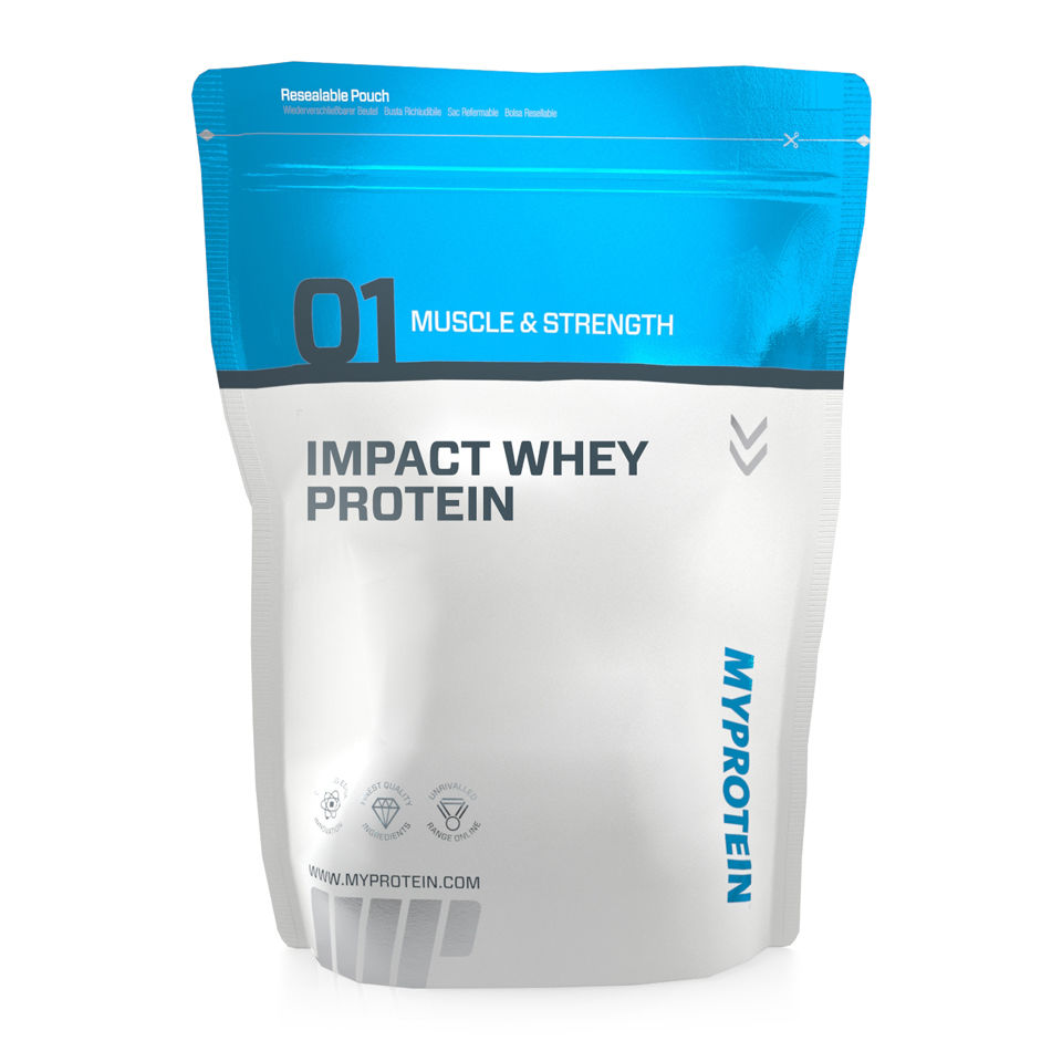 Impact Whey Protein is the UK's #1 Premium Whey Protein with over 80% protein per serving. More than 50 mouth-watering flavours available. Free next day delivery.