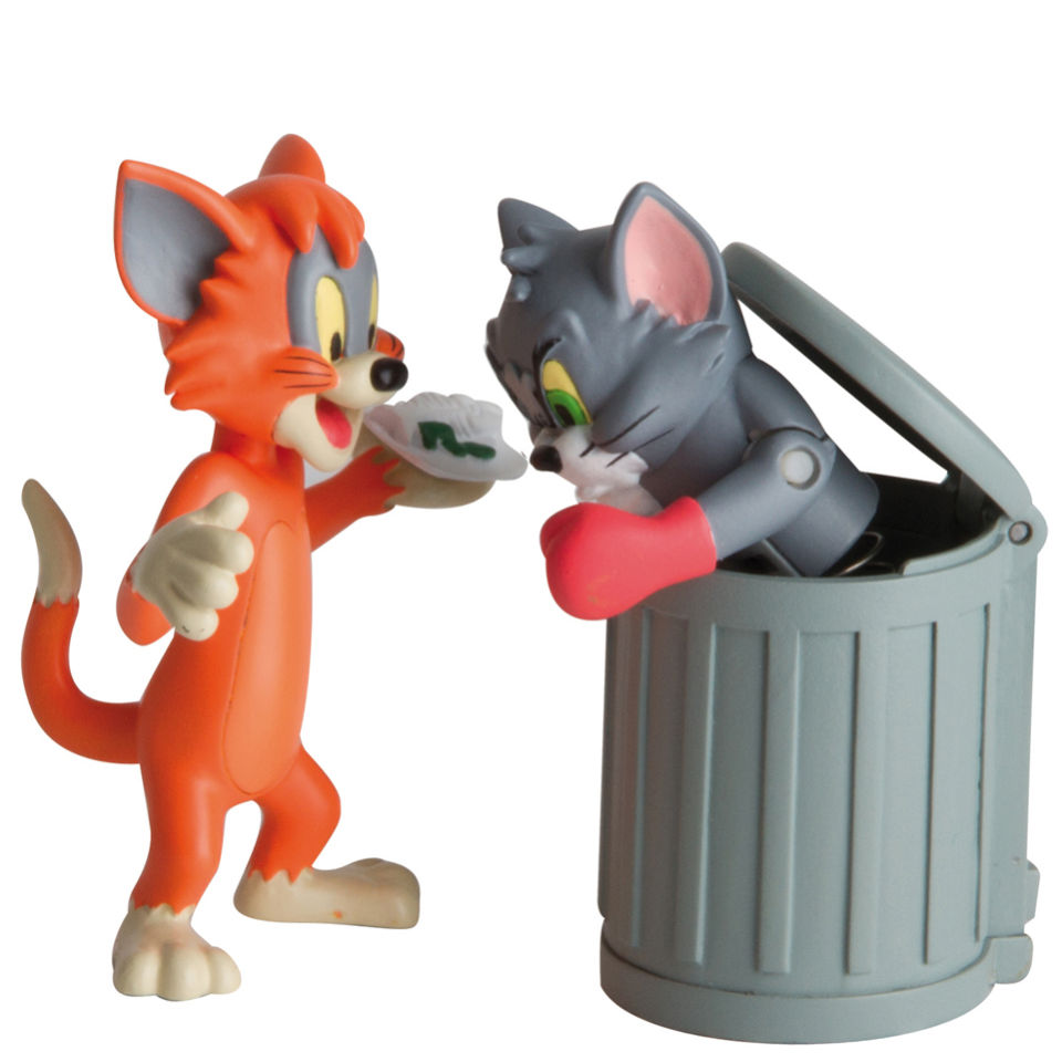 Tom and Jerry Character Collection Trash Tom Toys
