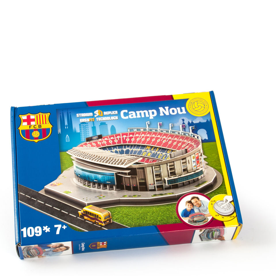 Paul Lamond Games 3D Stadium Puzzle Barcelona Toys TheHutcom