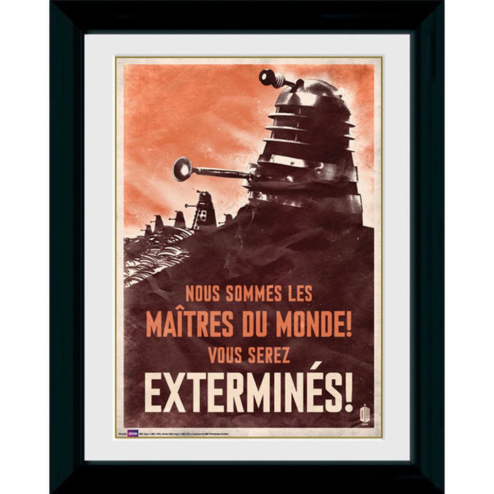 Doctor Who Daleks 30 X 40cm Collector Prints Iwoot