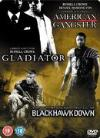 American Gangster/Gladiator/Black Hawk Down [Steelbook]