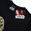 Star Wars Men's Yoda Text Head T-Shirt - Black: Image 3