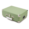 GPO Retro Attache Briefcase Style Three-Speed Portable Vinyl Turntable with Free USB Stick and Built-In Speakers - Apple Green: Image 2