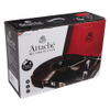 GPO Retro Attache Briefcase Style Three-Speed Portable Vinyl Turntable with Free USB Stick and Built-In Speakers - Black: Image 5