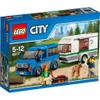 LEGO City: Van and Caravan (60117): Image 1