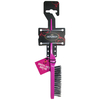 Denman D91 Dress-Out Brush - Pink: Image 1