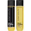 Matrix Total Results Hello Blondie Shampoo (300ml) and Conditioner (300ml): Image 1