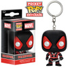 Marvel Deadpool Black Suit Pocket Pop! Vinyl Key Chain: Image 1