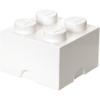 LEGO Storage Brick 4 - White: Image 1