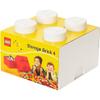 LEGO Storage Brick 4 - White: Image 3