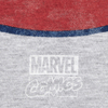 Marvel Men's Captain America Shield T-Shirt - Grey Marl: Image 3