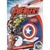 Marvel Avengers Captain Shield Metal Earth Construction Kit: Image 2