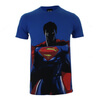DC Comics Men's Batman v Superman Superman T-Shirt - Royal: Image 1