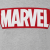 Marvel Comics Men's Core Logo T-Shirt - Sports Grey: Image 3