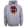 Marvel Deadpool Men's Paint Logo Hoody - Grey: Image 1