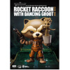 Beast Kingdom Marvel Guardians of the Galaxy Egg Attack Rocket Raccoon with Dancing Groot 4 Inch Figure: Image 1