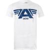 Marvel Men's Captain America Civil War A-Wings T-Shirt - White: Image 1