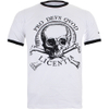 Uncharted 4 Men's Skulls Ringer T-Shirt - White: Image 1