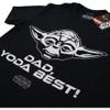 Star Wars Men's Yoda Best Dad T-Shirt - Black: Image 2