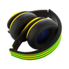 adidas Originals by Monster Headphones (3-Button Control Talk & Passive Noise Cancellation) - Yellow/Green/Black: Image 5