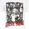 DC Comics Men's Suicide Squad Harley Quinn and Squad T-Shirt - White: Image 5