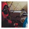 Marvel Men's Deadpool Bang T-Shirt - White: Image 3