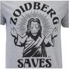 Futurama Men's Zoidberg Saves T-Shirt - Grey Marl: Image 4