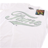 Fame Men's Logo T-Shirt - White: Image 3