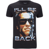 Terminator Men's I'll Be Back T-Shirt - Black: Image 1