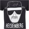 Breaking Bad Men's Heisenberg T-Shirt - Black: Image 3