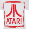 Atari Men's Square Logo T-Shirt - White: Image 3