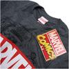 Marvel Men's Mono Comic T-Shirt - Dark Heather: Image 3