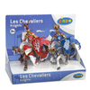 Papo Medieval Era: Display Box Weapons Knight Stag and Ram: Image 1
