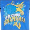 Bananaman Men's Here Comes Bananaman T-Shirt - Blue: Image 3