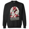 Warner Brothers Men's Bugs Bunny Christmas Sweatshirt - Black: Image 1