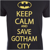 DC Comics Batman Men's Keep Calm T-Shirt - Black: Image 5