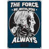 Star Wars 'The Force' Small Tin Sign 29cm x 42cm: Image 1