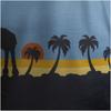 Star Wars: Rogue One Men's Death Star Palm Tree T-Shirt - Blue: Image 2