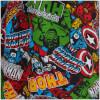 Marvel Comics Men's Avengers All Over Print Lounge Pants - Multi: Image 4