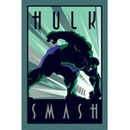 Marvel Deco Hulk - 24 x 36 Inches Maxi Poster